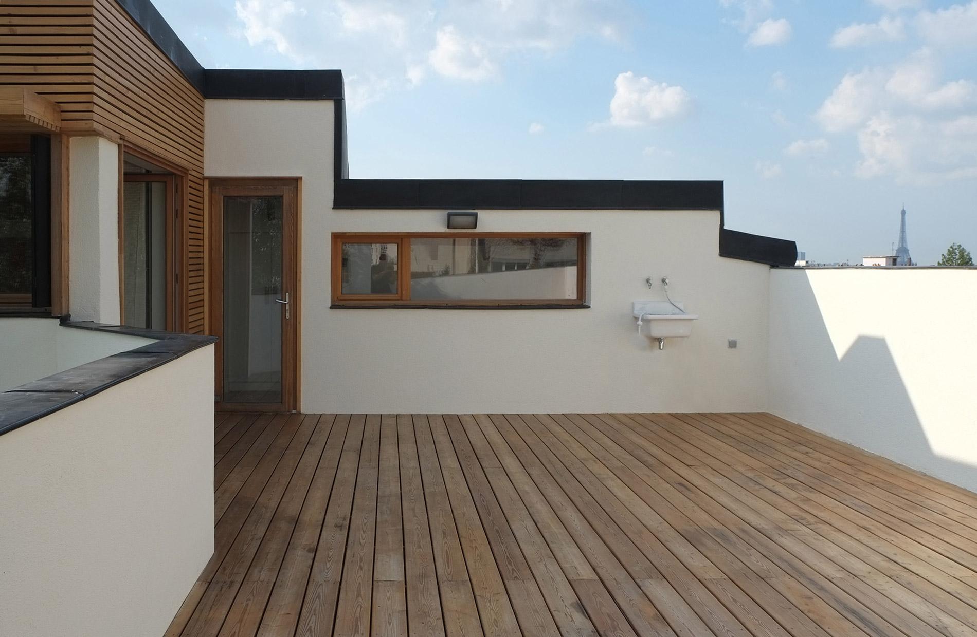 sur l vation d une maison tanguy croizier architecte. Black Bedroom Furniture Sets. Home Design Ideas